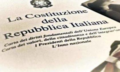 Il sindaco Brivio ricorda il 70° della Costituzione della Repubblica Italiana
