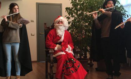 Babbo Natale è arrivato a Monticello FOTO
