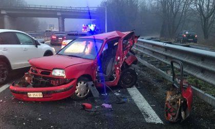 Superstrada 36 chiusa per un grave incidente