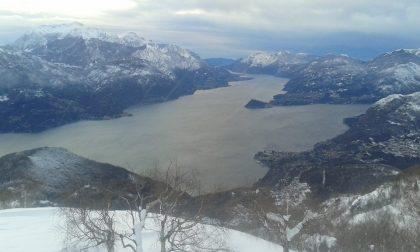 Neve sul lago di Como:gli scatti più belli dai rifugi FOTO
