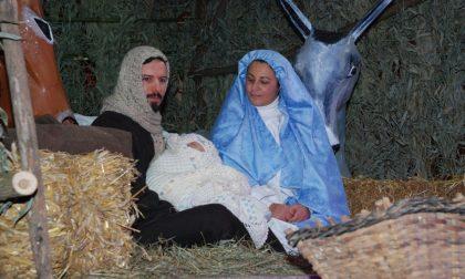 Atmosfera natalizia con il presepe vivente a Missaglia