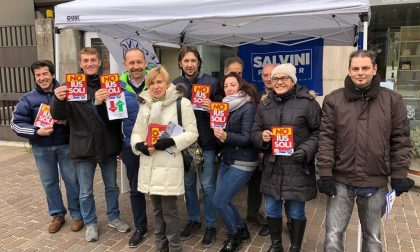Ius Soli la Lega ha raccolto 1000 firme nel week end per dire no FOTO