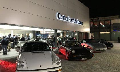 Test-drive su una Porsche con tanto di pilota