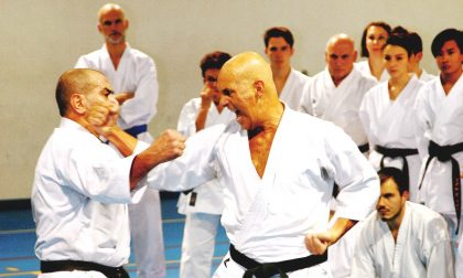 Maestro Shirai, una cintura nera 10° Dan fa scuola alla  Shotokan Ryu. FOTO