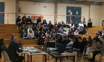 Villa Greppi studenti a lezione di legalità