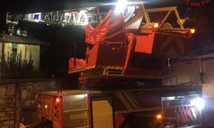 Incendio canna fumaria a Galbiate provvidenziale intervento dei pompieri