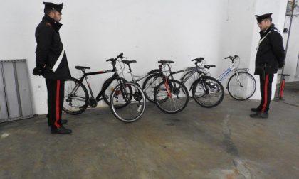 Ladri di biciclette beccati dai carabinieri