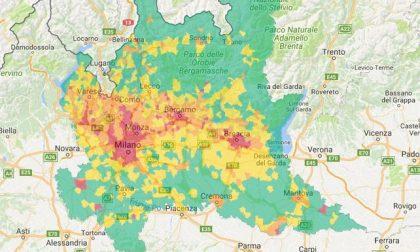 Vento e pioggia ripuliscono  l'aria Pm10 ai minimi nel Lecchese e nel Meratese