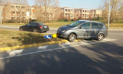 Incidente stradale a Merate, colpa di una distrazione