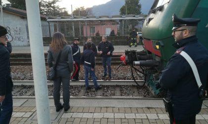 15enne investito dal treno in stazione a Mandello. Lotta per la vita in ospedale