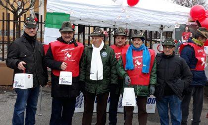 Alpini Casatenovo campioni di solidarietà FOTO