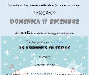 Spettacolo Natale all'oratorio San Giorgio Casatenovo