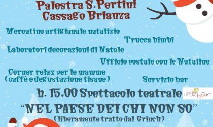 Festa Natale alla palestra di Cassago