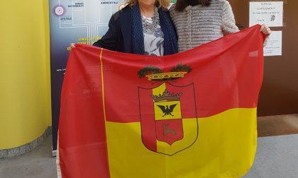 Cerimonia ufficiale per il ritorno con Bergamo