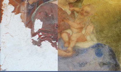 Edicola San Rocco, una mostra fotografica sul restauro