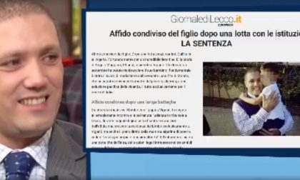 Affido condiviso del figlio, il caso di Viganò finisce in tv FOTO e VIDEO
