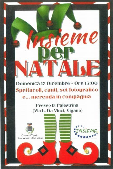 Festa Natale per tutti i volontari di Viganò