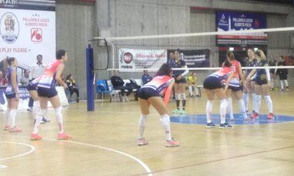 Volley B2, Picco a segno cade Olginate