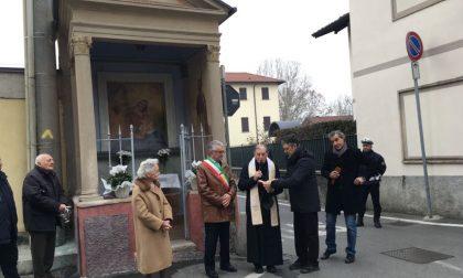 Inaugurata l'edicola di San Rocco a Sartirana