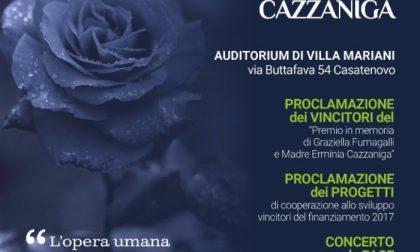 Premiazione del Graziella Fumagalli e madre Erminia Cazzaniga