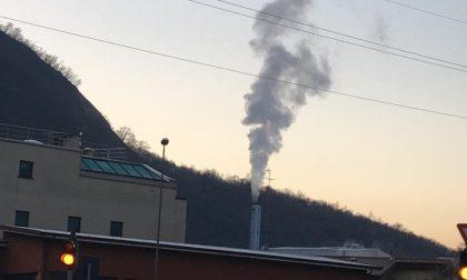 Guasto all'inceneritore di Valmadrera,  anomala fuoriuscita di vapore