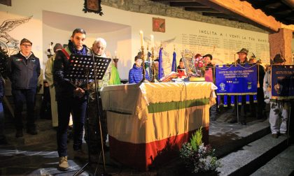 A Morbegno celebrato il 75° di Warwarowka FOTO