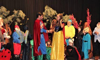 Il musical Biancaneve va in archivio con il sorriso del successo FOTO