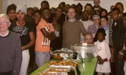 Cena multietnica con Amministrazione e volontari