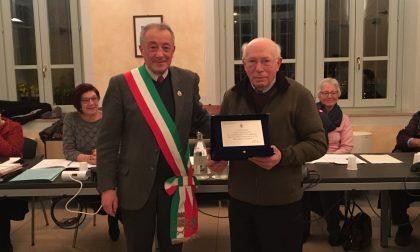 Fedele Casati ha ricevuto una targa alla carriera