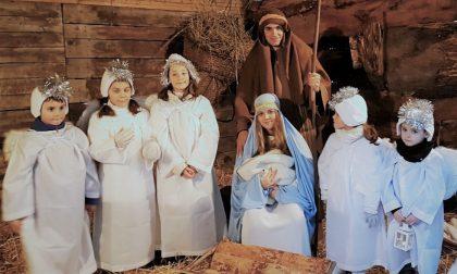 La replica del presepe vivente a Novate chiude le feste in città FOTO