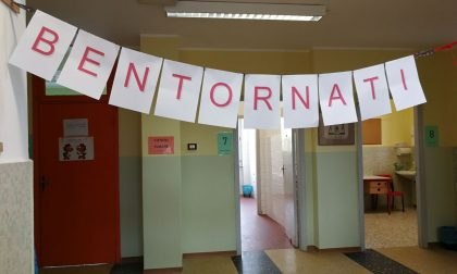 Cascina Grassi gli studenti sono rientrati a scuola