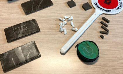 Arrestato pusher in possesso di cocaina e hashish