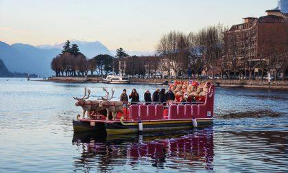 Oggi e domani a Lecco torna la Slitta di Babbo Natale