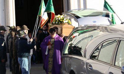Celebrati a Civate i funerali di Giacomo Valsecchi