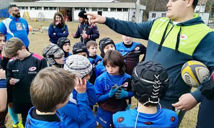 Rugby Lecco al Saracens Winter Rugby Camp. FOTO