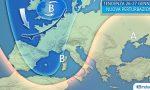 Meteo torna la pioggia da venerdì con neve sulle Alpi, ma non farà freddo