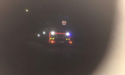 Incendio canna fumaria intervengono i Vigili del Fuoco