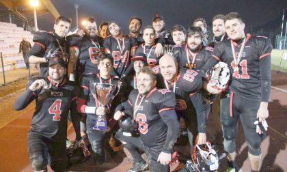 Festa Commandos, conquistata la 7League di football americano