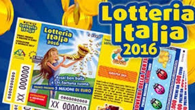 Lotteria Italia, caccia a 5 mln di euro