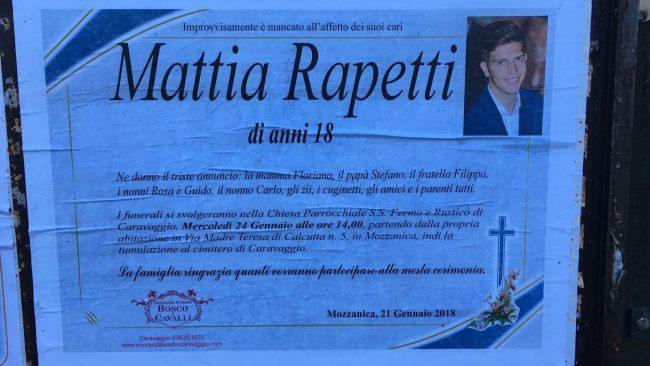 Mattia, ricoverato per influenza muore dopo 3 giorni di agonia