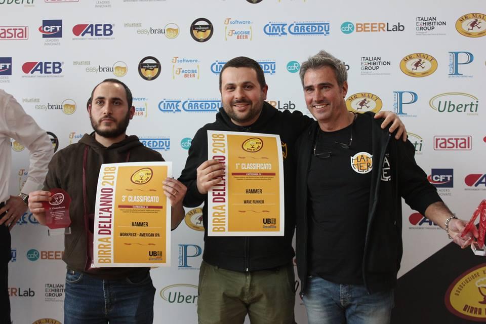 Birra dell'anno 2018 conferma Hammer in vetta | La classifica