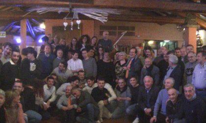 Cena con i dirigenti della Polisportiva Valmadrera