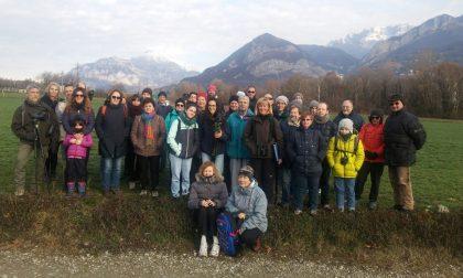 Quaranta volontari di Legambiente in visita alla Palude di Brivio