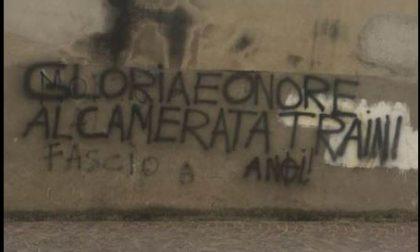 A Lecco vergognoso murales che inneggia a Luca Traini