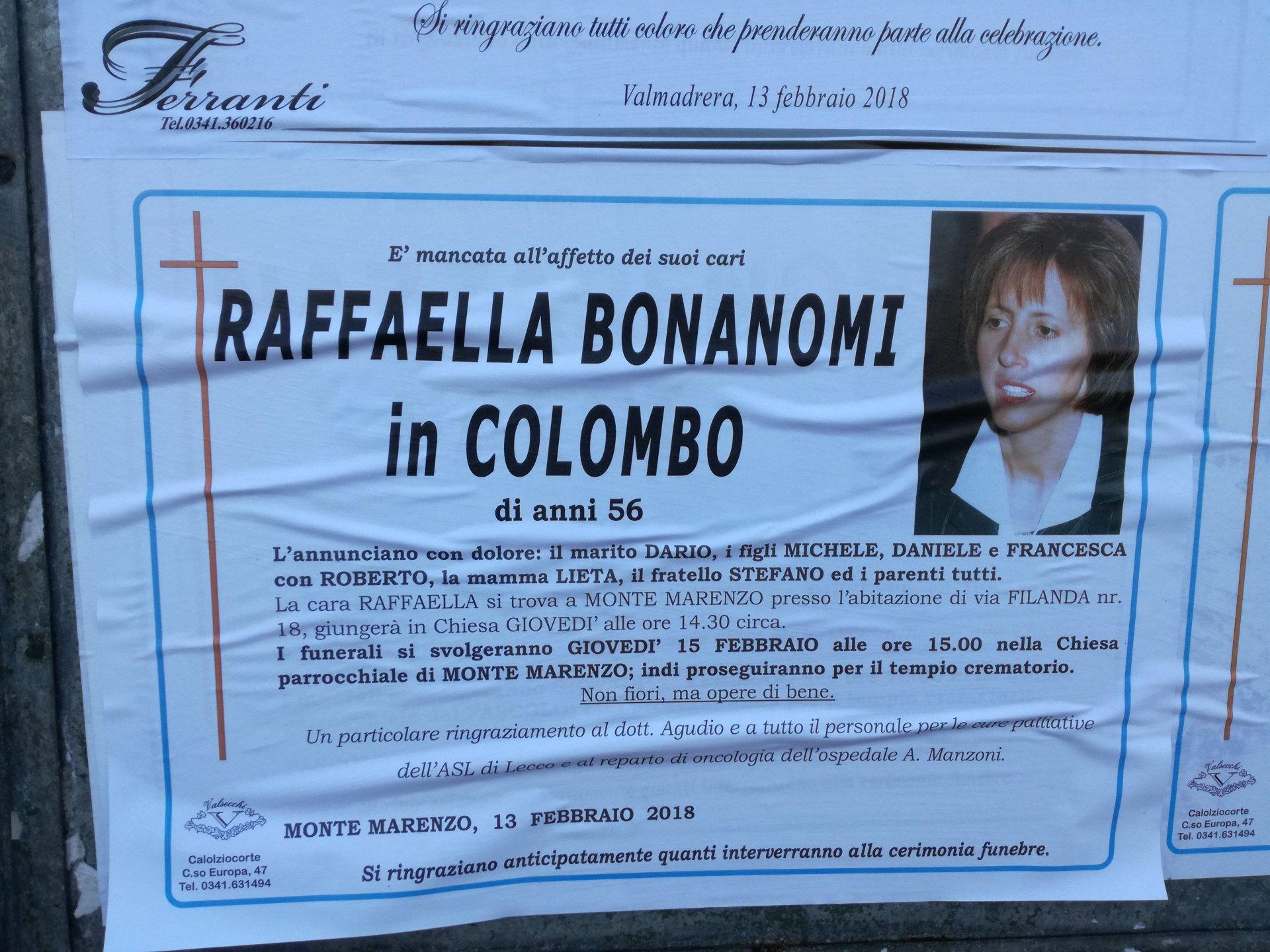 Si è spenta Raffaella Bonanomi commessa del Punto Scarpe