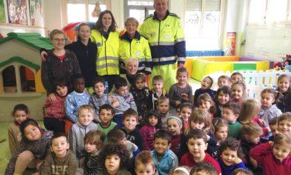 Protezione Civile alla scuola dell'infanzia TUTTE LE FOTO