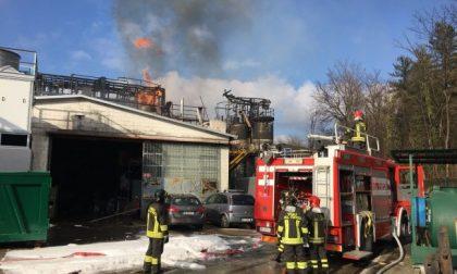 Esplosione in azienda nel Comasco tre feriti in codice rosso FOTO e VIDEO