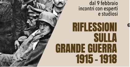 Grande Guerra il primo appuntamento per rivere quel tempo