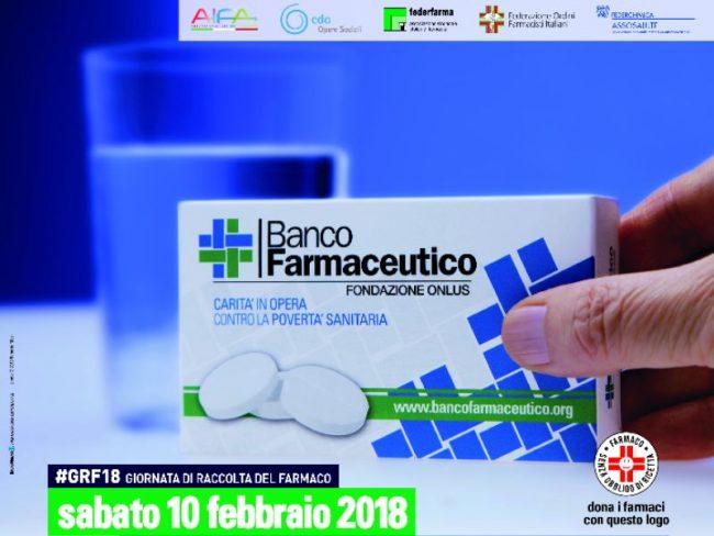 Povertà sanitaria, il 10 febbraio torna la Giornata di raccolta del farmaco