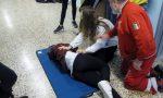 Studenti a lezione di primo soccorso FOTO